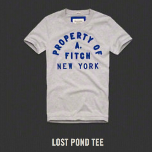 bb686bd5 Abercrombie & Fitch Shirts | Abercrombie Fitch Mens Lost Pond Tee ...